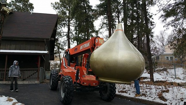 Dome on its way to a new home!
