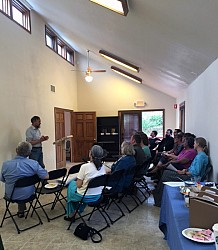 Dr. Ford leads workshop